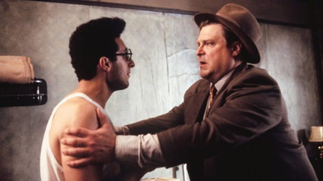 John Turturro and Johngoodman in Barton Fink