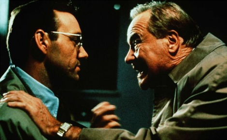 Kevin Spacey and Jack Lemmon in Glengarry Glen Ross
