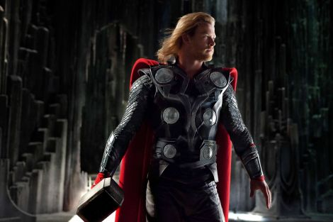 Photo credit: Mark Fellman / Marvel Studios, Thor (Chris Hemsworth) in THOR, from Paramount Pictures and Marvel Entertainment © 2011 Marvel. All Rights Reserved.