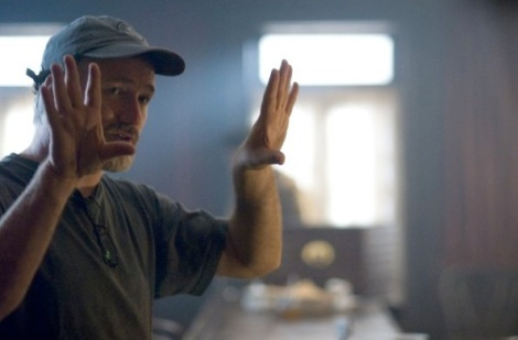 David Fincher in action.