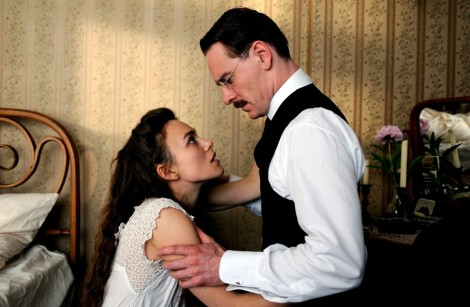 A Dangerous Method, starring Michael Fassbender and Keira Knightley